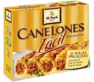 CANELONES PRECOCIDOS EL PAVO 65 GR.