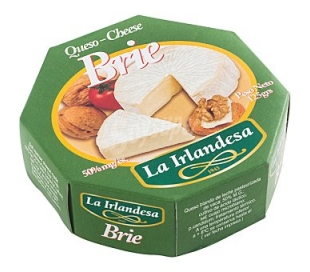 QUESO BRIE IRLANDESA 125 GRS.