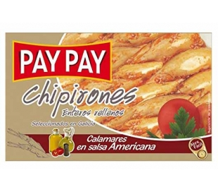 CHIPIRON ENTEROS-RELLENOS PAY PAY 72 GRS.