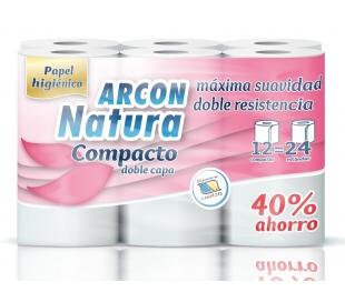 papel-higienico-compacto-arcon-natura-12-rollos
