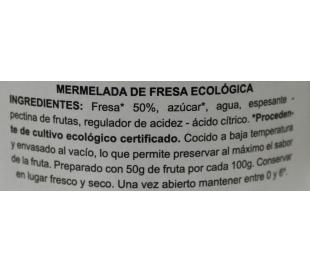 MERMELADA FRESA BIO DOÑATURA 270 GRS.