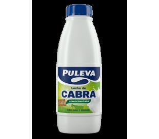 LECHE DE CABRA SEMIDESNATADA BOTELL PULEVA 1 L.