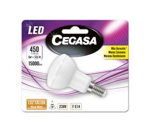 bombillo-led-r50-6we14-calida-cegasa-1u