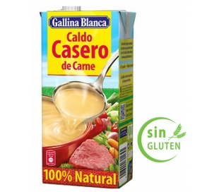 CALDO CASERO CARNE GALLINA BLANCA BRIK 1 L.