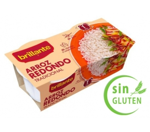 ARROZ REDONDO BRILLANTE PACK 2X125 GR.