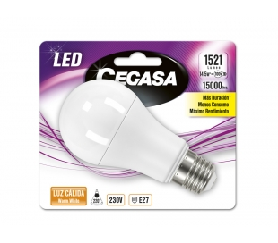 BOMBILLO LED ESTANDAR 14,5W.E27 CALIDA CEGASA 1U