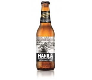 CERVEZA ESPECIAL MANILA BOTELLA 33 CL.