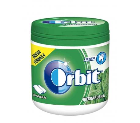 chicle-hierbabuena-bote-orbit-60-grageas-84-grs