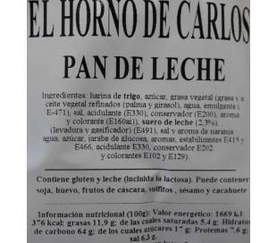 PAN DE LECHE 105 GRS.
