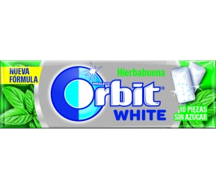 chicle-white-hierbabuena-orbit-10-grageas-14-grs
