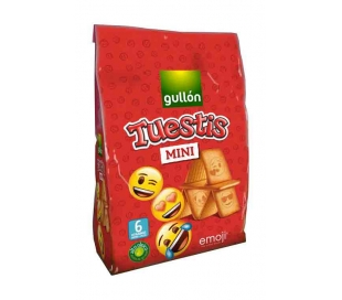 GALLETAS TUESTIS MINI EMOJI GULLON 250 GRS.
