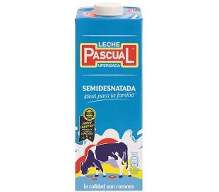 LECHE SEMIDESNATADA PASCUAL 1 L.