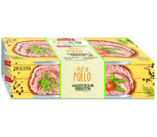 PATE POLLO OLIVING ARGAL PACK 2X80 GRS.