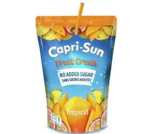 ZUMO FRUIT CRUSH CAPRI SUN 200 ML.