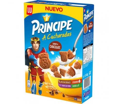 GALLETAS CUCHARADAS,CHOCOLATE PRINCIPE 240 GR. 6 UN.