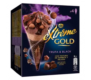 helado-cono-extreme-gold-chocolate-trufa-nestle-pack-4x120-ml