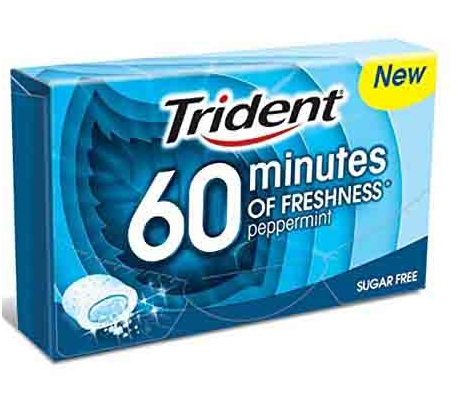 chicles-60-minutos-menta-trident-20-grs
