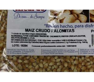 MAIZ PALOMITA CASA RICARDO 3000 GRS.