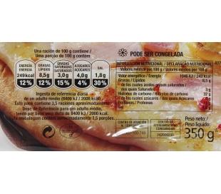 PIZZA POLLO CESAR CAMPOFRIO 350 GRS.