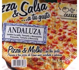 PIZZA ANDALUZA CAMPOFRIO 345 GRS.