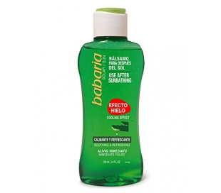 AFTER SUN ALOE VERA EF.HIELO BABARIA 200 ML.