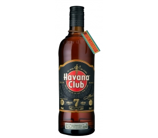 RON AÑEJO 7 AÑOS HAVANA CLUB 750 ML.