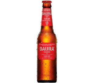 CERVEZA DAURA ESTRELLA DAMM BOTELLA 33 CL.