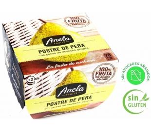 POSTRE DE FRUTAS PERA ANELA PACK 2X100 GR.