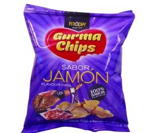PAPAS FRITAS SABOR JAMON FRITOPER 30 GRS.