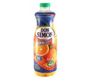 ZUMO NARANJA C/PULPA DON SIMON 1 L.