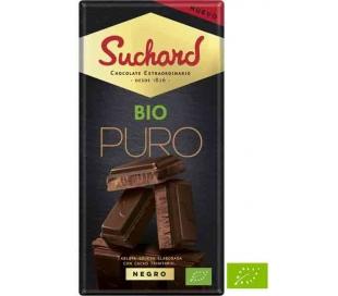 CHOCOLATE BIO PURO NEGRO SUCHARD 150 GRS.