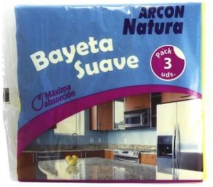 BAYETA AMARILLA ARCON NATURA 3 UND.