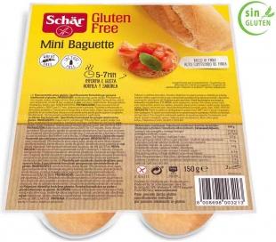 MINI BAGUETTE SCHAR PACK 2X75 GRS.