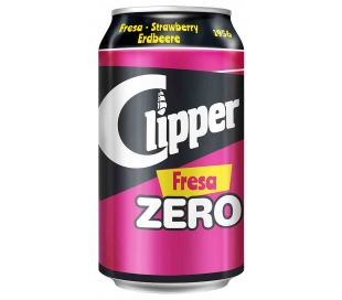 refresco-fresa-zero-lata-clipper-33-cl