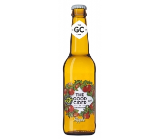 SIDRA MANZANA S/ALCOHOL THE GOOD CIDER 330 ML.
