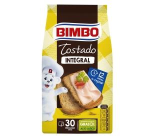 PAN TOSTADO NAT.100% INTEGRAL BIMBO 270 GR.