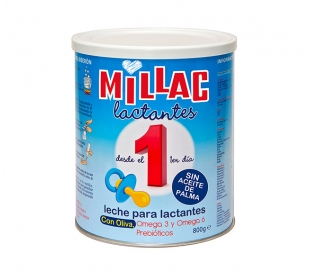 LECHE LACTANTES-1 MILLAC 800 GRS.