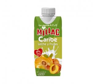 ZUMO+LECHE CARIBE MILLAC 330 ML.