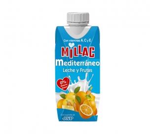 ZUMO+LECHE MEDITERRANEO MILLAC 330 ML.