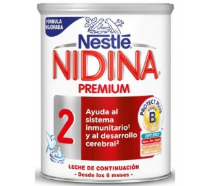 LECHE POLVO NIDINA-2 NESTLE 800 GRS.