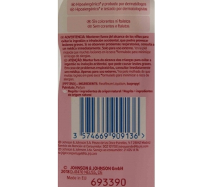 ACEITE CORPORAL BABY JOHNSONS 300 ML.