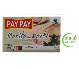 BONITO DEL NORTE AL NATURAL PAY PAY 120 GR.