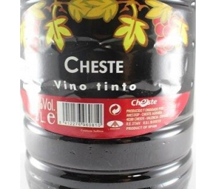 VINO TINTO CHESTE PET 2L.