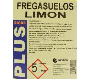 FREGASUELOS LIMON DT 5L.