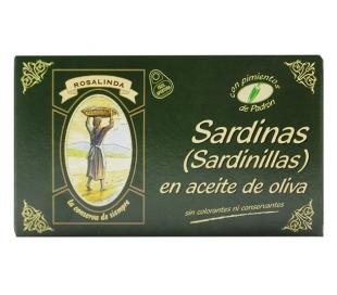 SARDINILLAS AC.OLIVA C/PIMIEN. ROSALINDA 90 GR.