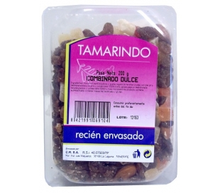 FRUTOS SECOS TARRINA COCKTAIL DULCE TAMARINDO 200 GR.