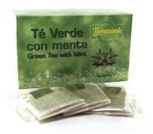 INFUSION TE VERDE C/MENTA TAMARINDO 20 UN.