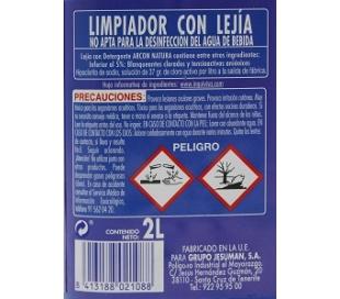 LEJIA CON DETERGENTE LA SALUD 2 L.