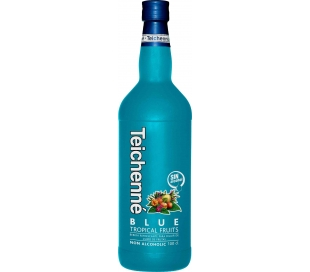 LICOR SIN ALCOHOL TROPICAL BLUE TRES-TRES 1 L.