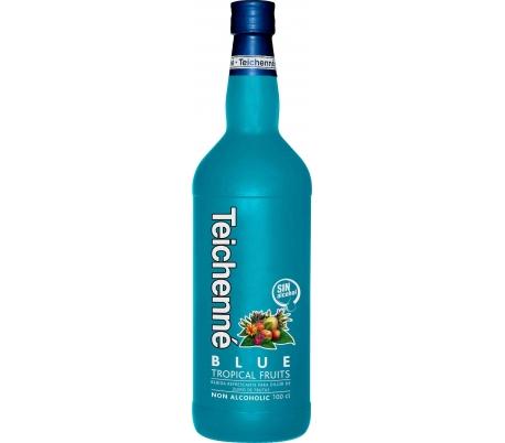 LICOR SIN ALCOHOL TROPICAL BLUE TRES-TRES 1 L.